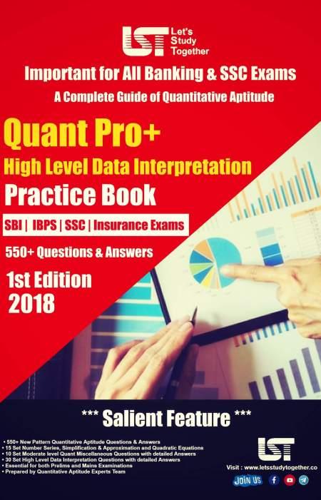 """""""Quantitative Aptitude - Quant Pro+ Practice Book """""""
