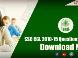 SSC CGL Previous Year Papers PDF – Download Now
