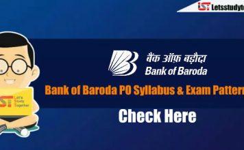 Bank of Baroda (BOB) Manipal PO 2018 Exam Pattern & Syllabus – Check Here