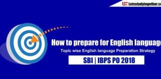 How to prepare English language for SBI PO 2018