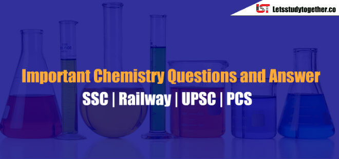Important Chemistry Questions for SSC CGL Exam 2018 | Set-1