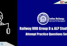 RRB Railway Group D & ALP Practice Questions Set | Day-14