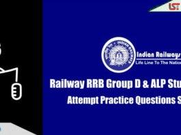 RRB Railway Group D & ALP Practice Questions Set   Day-14