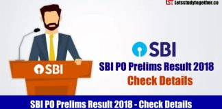 SBI PO Prelims Result – SBI PO Result and Cutoff marks & Scorecard