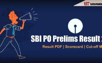 SBI PO Prelims 2018 Cut Off Marks - Check Here
