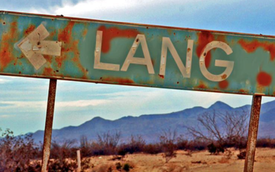 Old Lang Sign