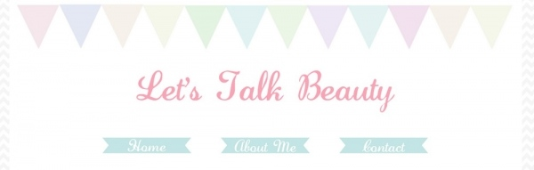 Lets Talk Beauty New Design
