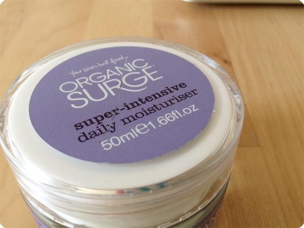 Organic Surge daily moisturiser