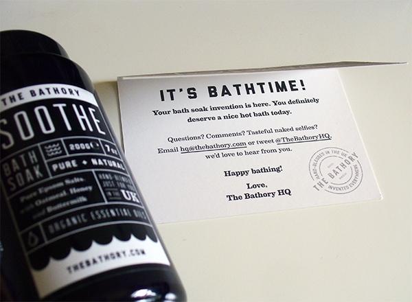 The Bathory Bath Salts Soothe Blend
