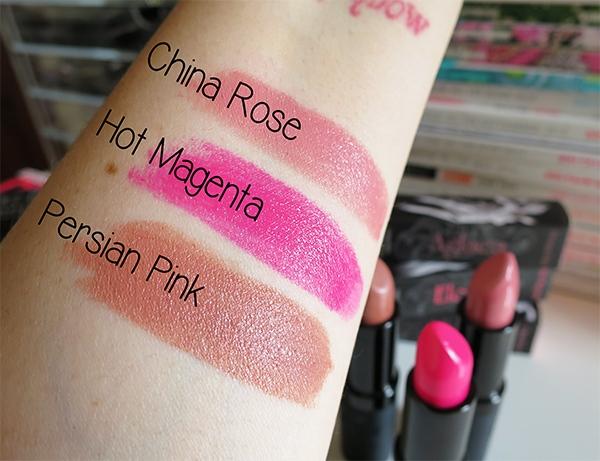 Me Me Me Lipstick Swatches