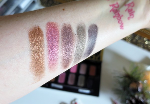 Anna Sui Eyeshadow Swatches