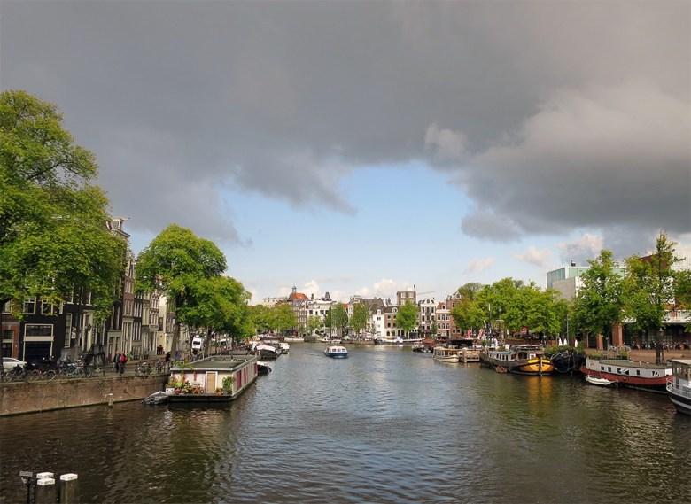 Amsterdam Amstel Canal