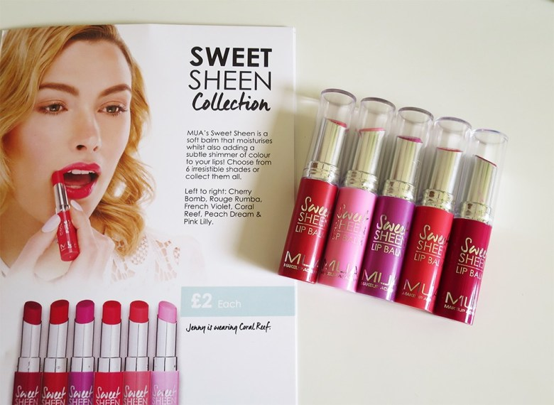 MUA Sweet Sheen Collection