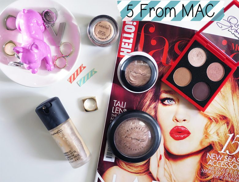 5 From Mac Cosmetics