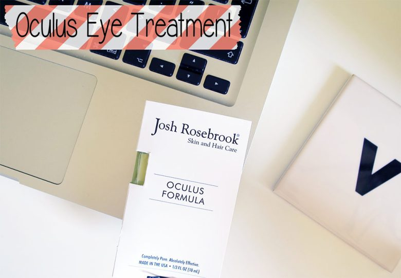 Josh Rosebrook Oculus Eye Treatment