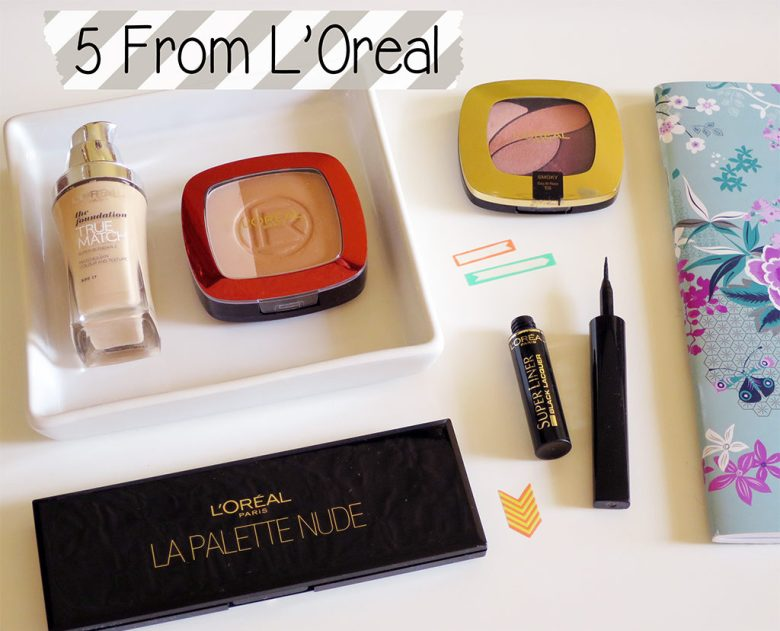 5 Products From L'Oreal