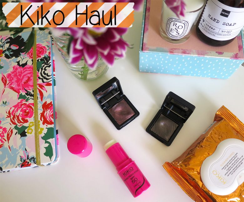 Kiko Makeup Haul