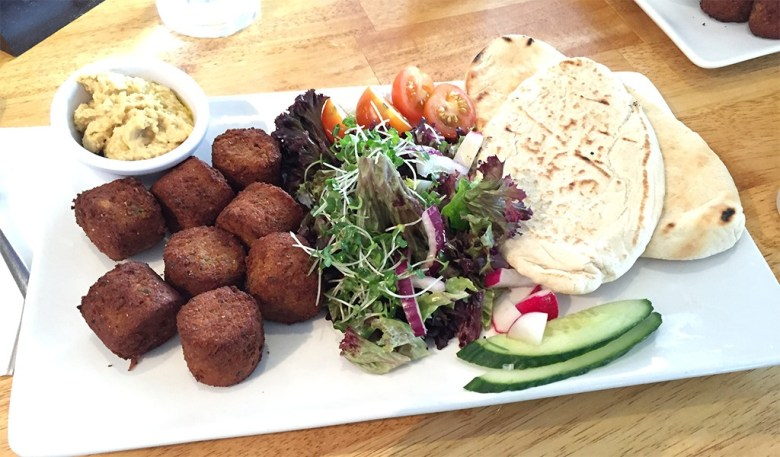 Falafel's for lunch