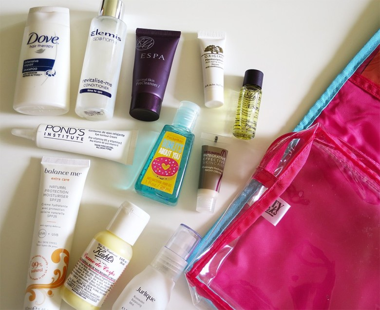 Travel Skincare 2015