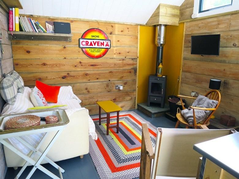 Air BnB Cornish Cabin