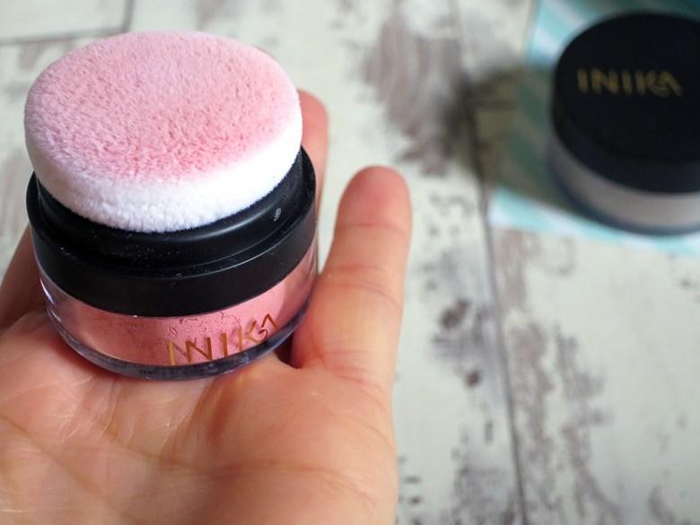 INIKA Mineral Blusher Puff Pot