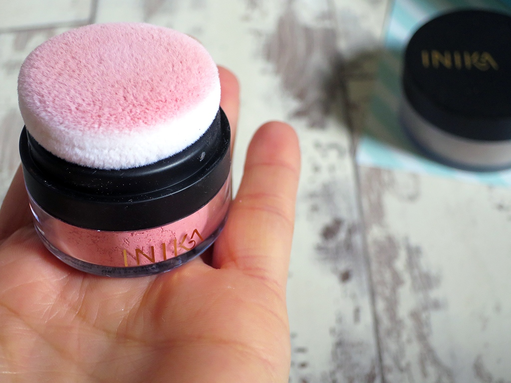INIKA Mineral Blusher Puff Pot