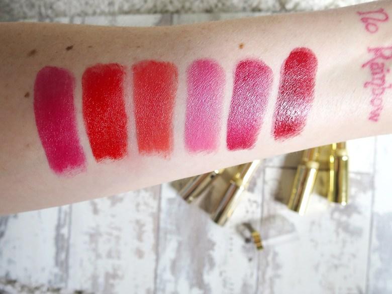 Max Factor Lipfinity Longwear Lipstick Swatches