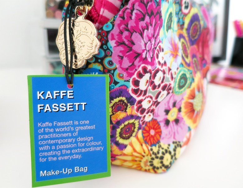 Kaffe Fassett Make Up Bag