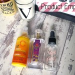 Product Empties September & October 2015