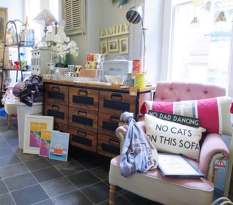 Homewear Shop in Fowey