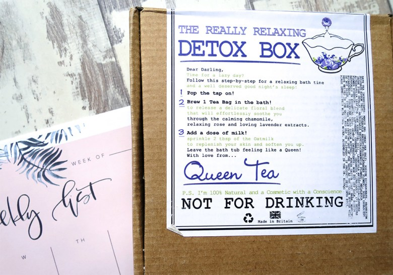 Detox Box by Queen Tea