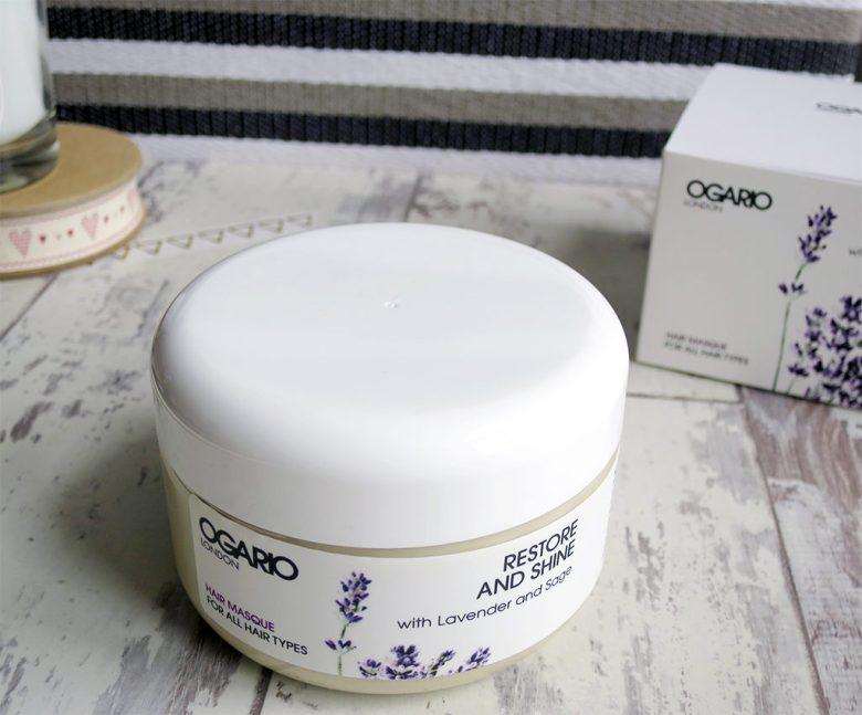 Ogario restore and shine hair masque