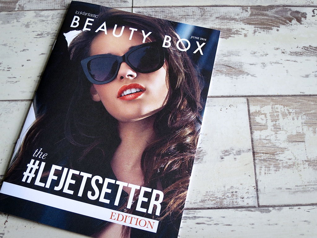 #LFJetSetter Beauty Box June 2016