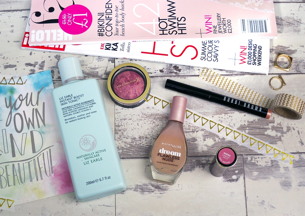 Five Beauty Favourites July 2016