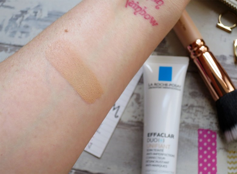 La Roche Posay Tinted Skincare Swatch