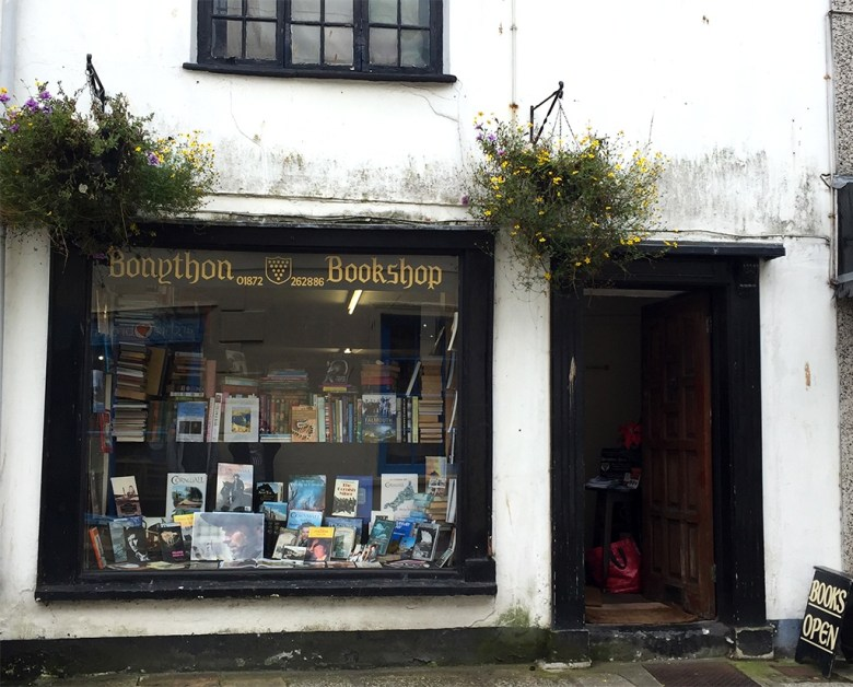 Second Hand Bookshop in Truro