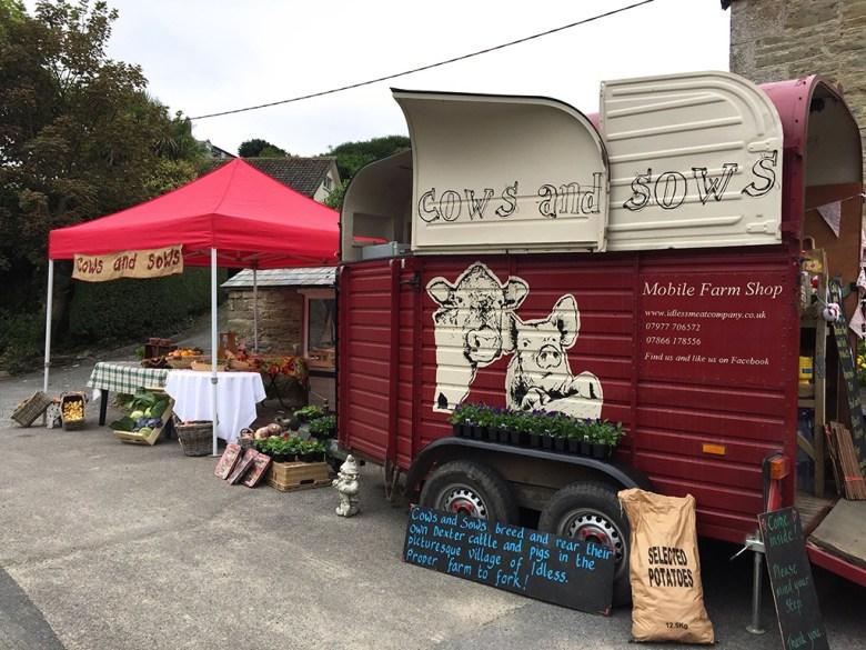 Horse Box Farm Shop Newquay