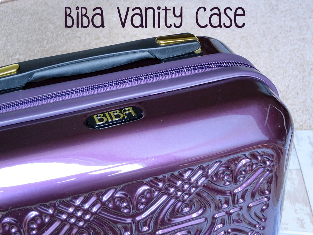BIBA Vanity Case in Purple