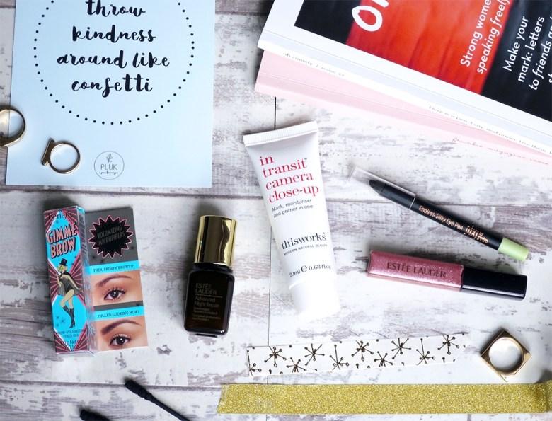 Makeup Sample Stash October