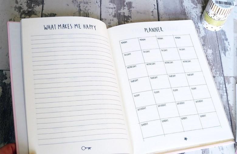 HEMA Happiness Planner Notebook