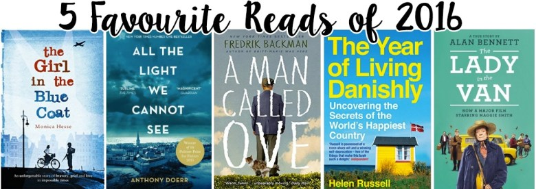 Five of my favourite books from 2016