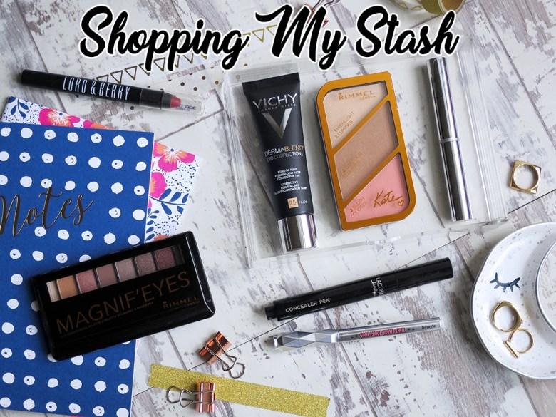 Shopping My Makeup Stash Jan 17