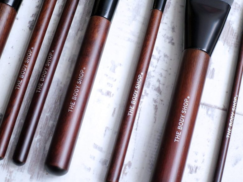 Vegan Makeup Brushes From The Body Shop