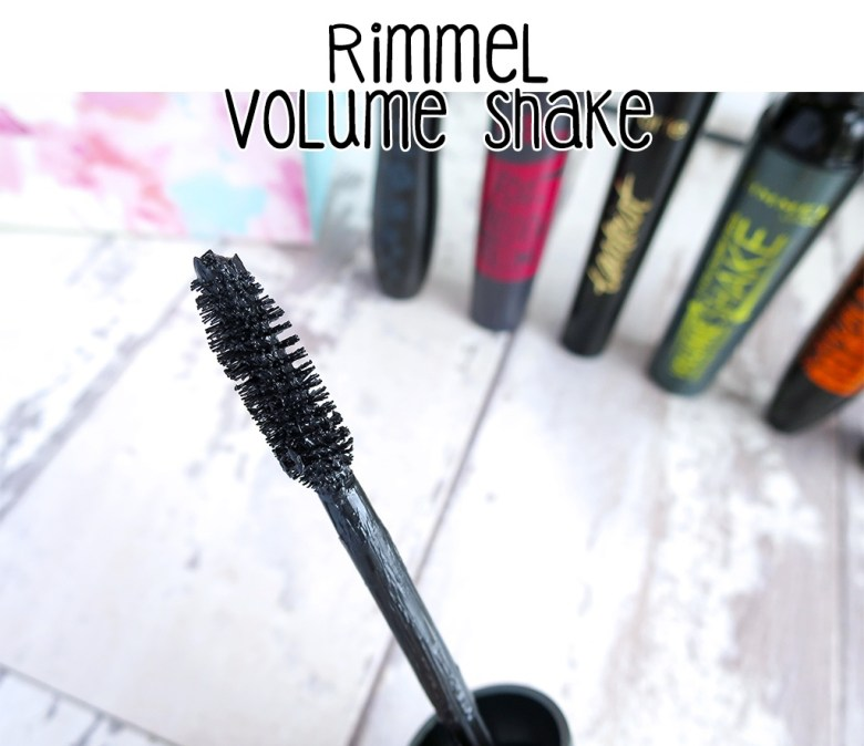 New Rimmel Volume Shake Mascara