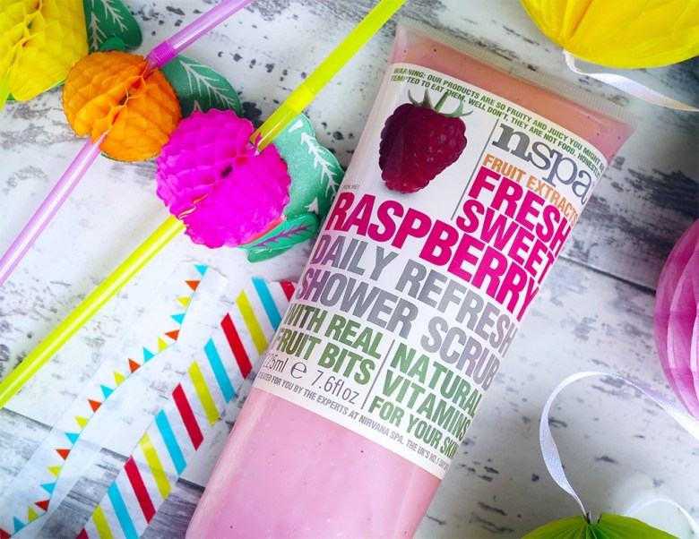 nspa Raspberry Shower Scrub