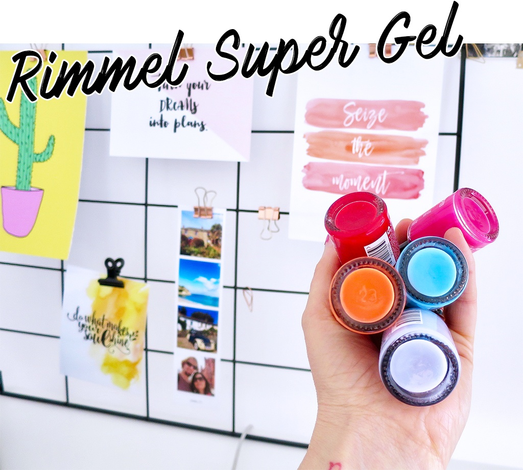 Rimmel Super Gel Nail Polishes