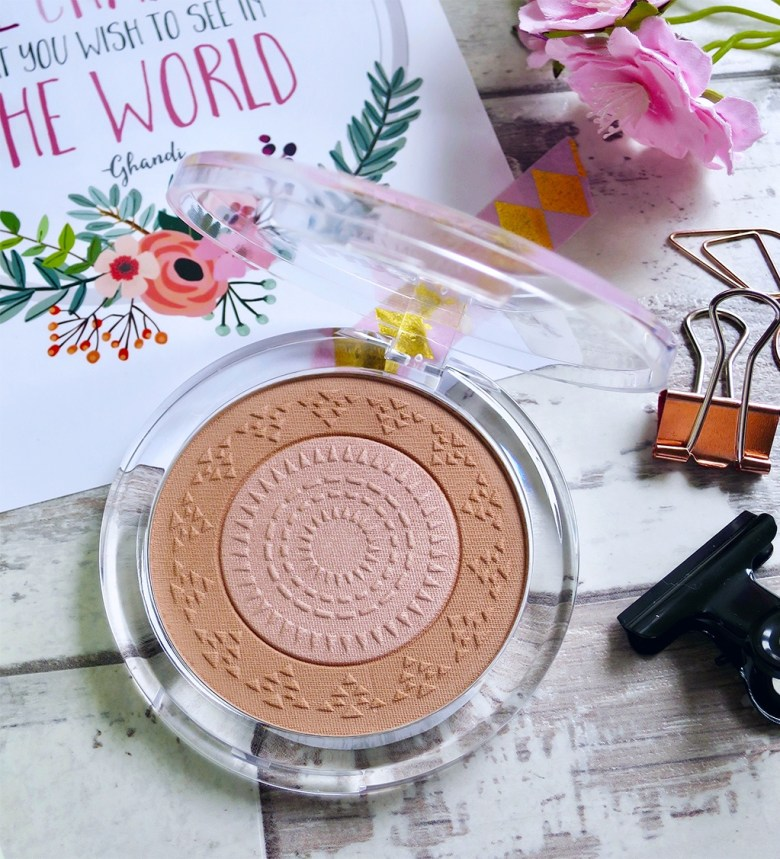 essence luminous matte bronzing powder