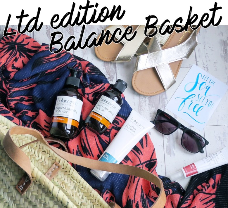 limited edition balanceMe basket