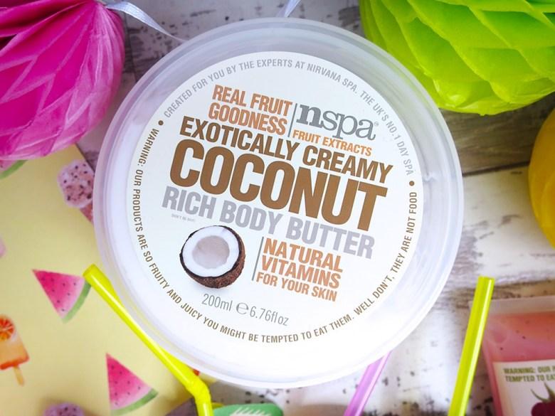 nspa Coconut Bodycare