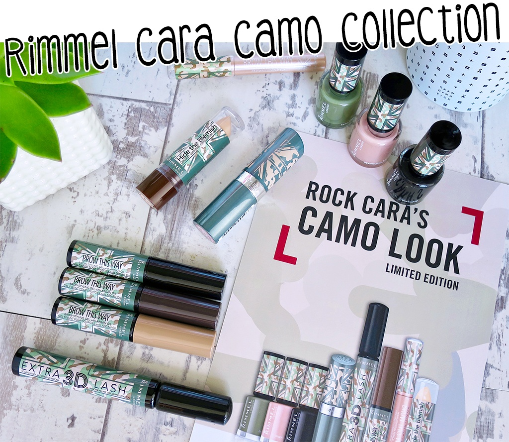 Rimmel Cara Camo Collection